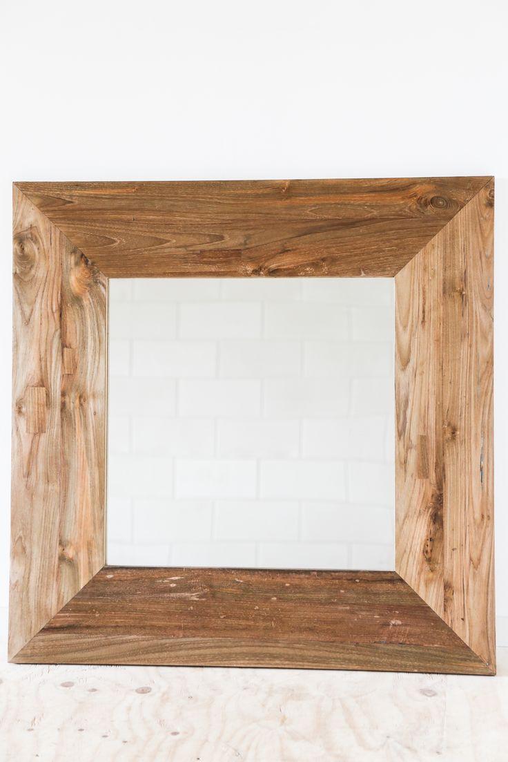 17 beste afbeeldingen over polder teak woonaccessoires for Staande spiegel hout