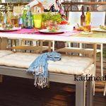 Geniş masalı balkon modeli