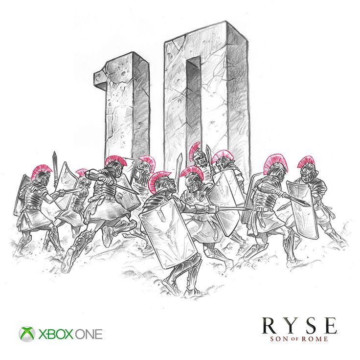 10 days until #XboxOne.