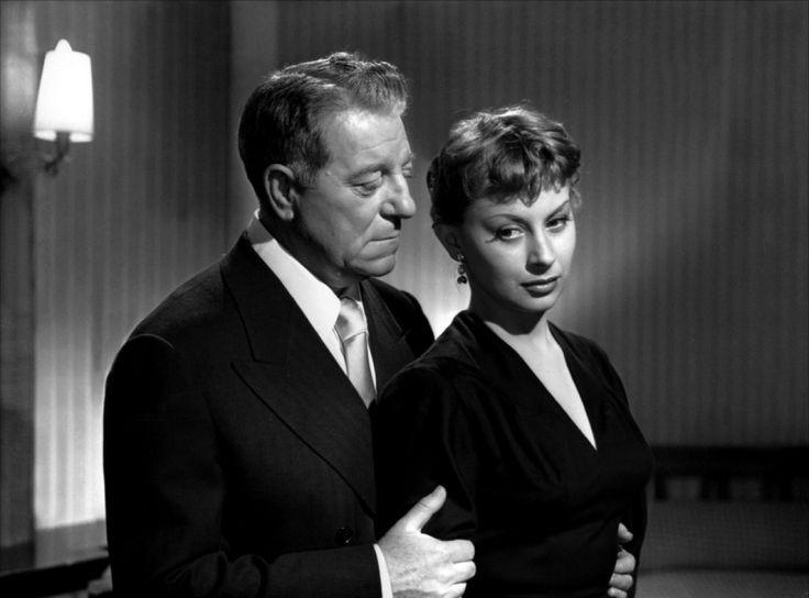 """Magali Noël & Jean Gabin """"Razzia sur la chnouf"""" (1955)"""