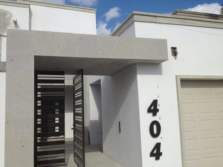 Best 20 fachadas de bardas ideas on pinterest for Fachadas de casas con porton