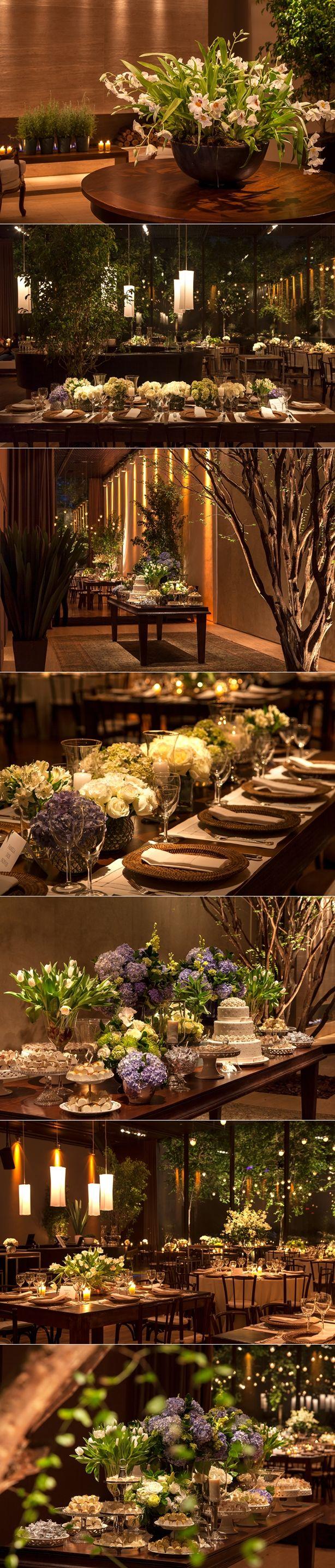 Decoração do casamento da Joana e do André | Noivinhas de luxo  www.noivinhasdeluxo.com.br