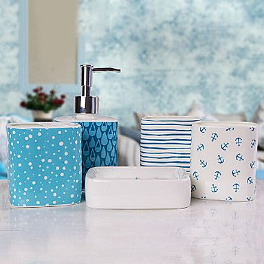 5 штук комплект ванны установлен керамический материал, ванна ансамбль, ванна набор принадлежностей – RUB p. 4 783,77