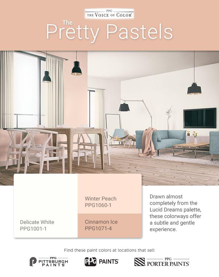 1000 images about pretty pastels palette on pinterest for Pretty neutral paint colors