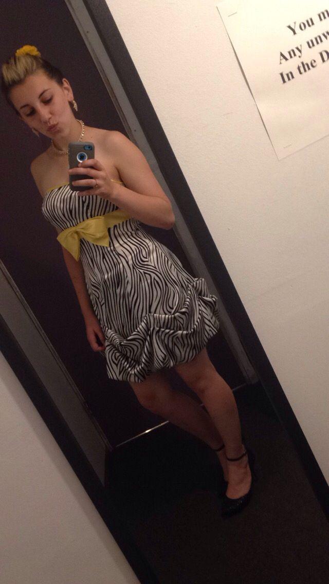 Zebra Grad Dresses 96