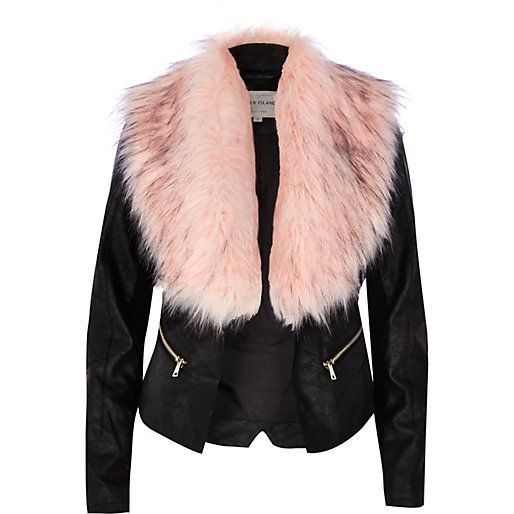 Best 25  Fur collar jacket ideas on Pinterest | Fur collars, Fur ...