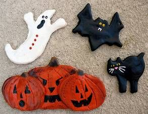 How to Make Halloween Salt Dough Cookie Cutter Creatures