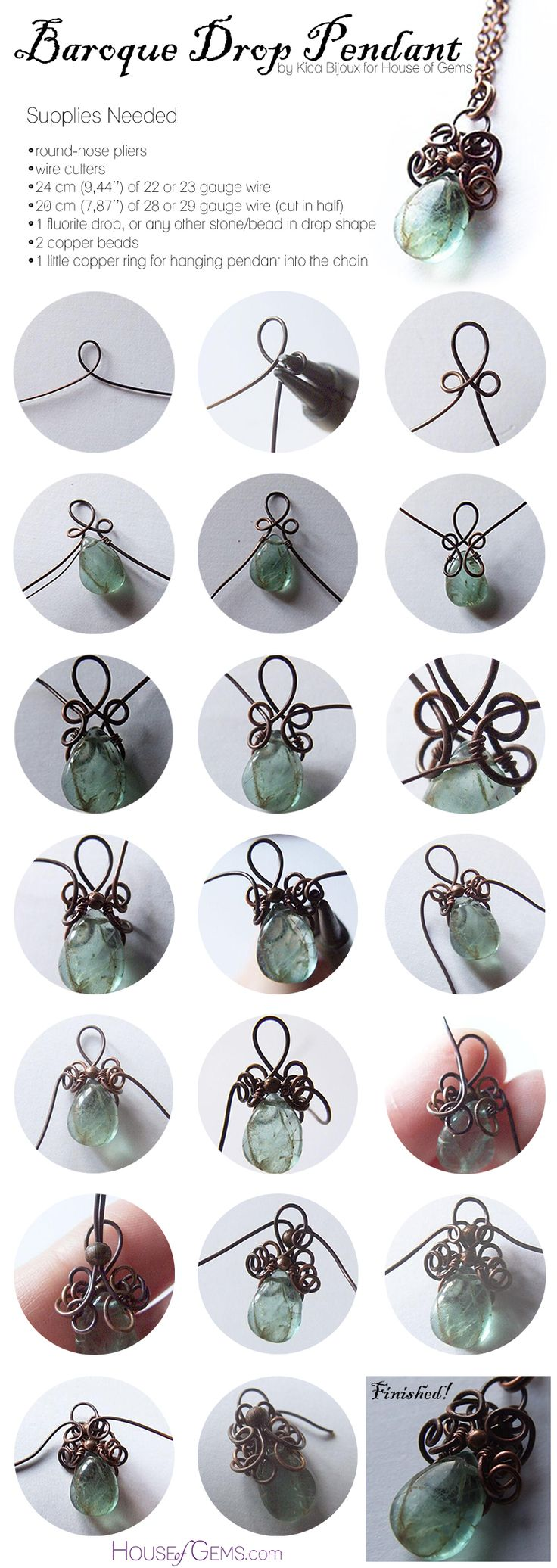 371 best wire jewelry images on Pinterest | Wire jewelry, Wire ...