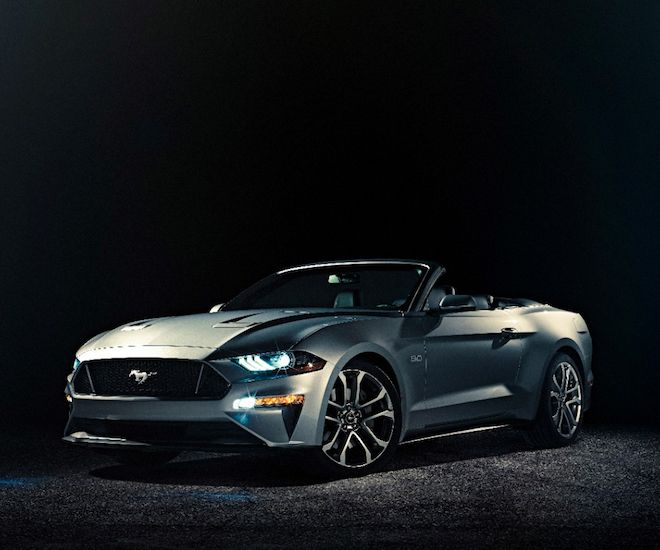 2018 Ford Mustang Convertible: The new family-friendly soft-top car is the first to come with a digital dashboard #thatdope #sneakers #luxury #dope #fashion #trending