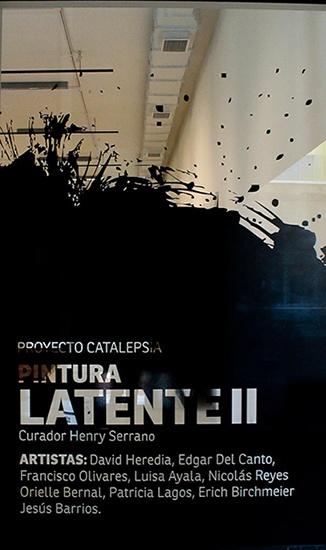Exposición Pintura Latente II. Junio 2013, en PCdV, Valparaíso.