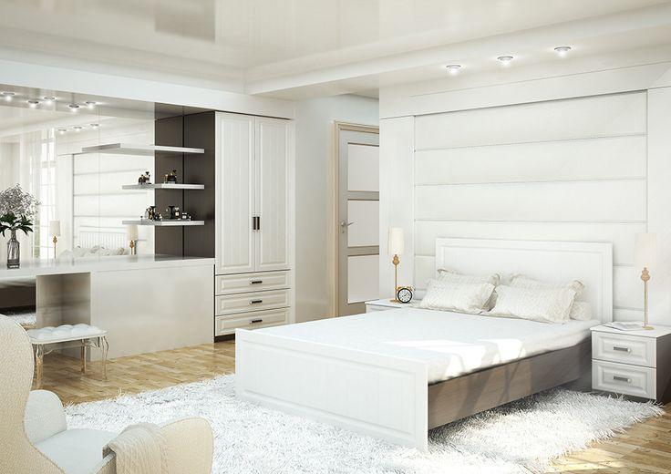«Прага» Набор мебели для спальни №03 | спальные гарнитуры в интернет магазине мебели V5