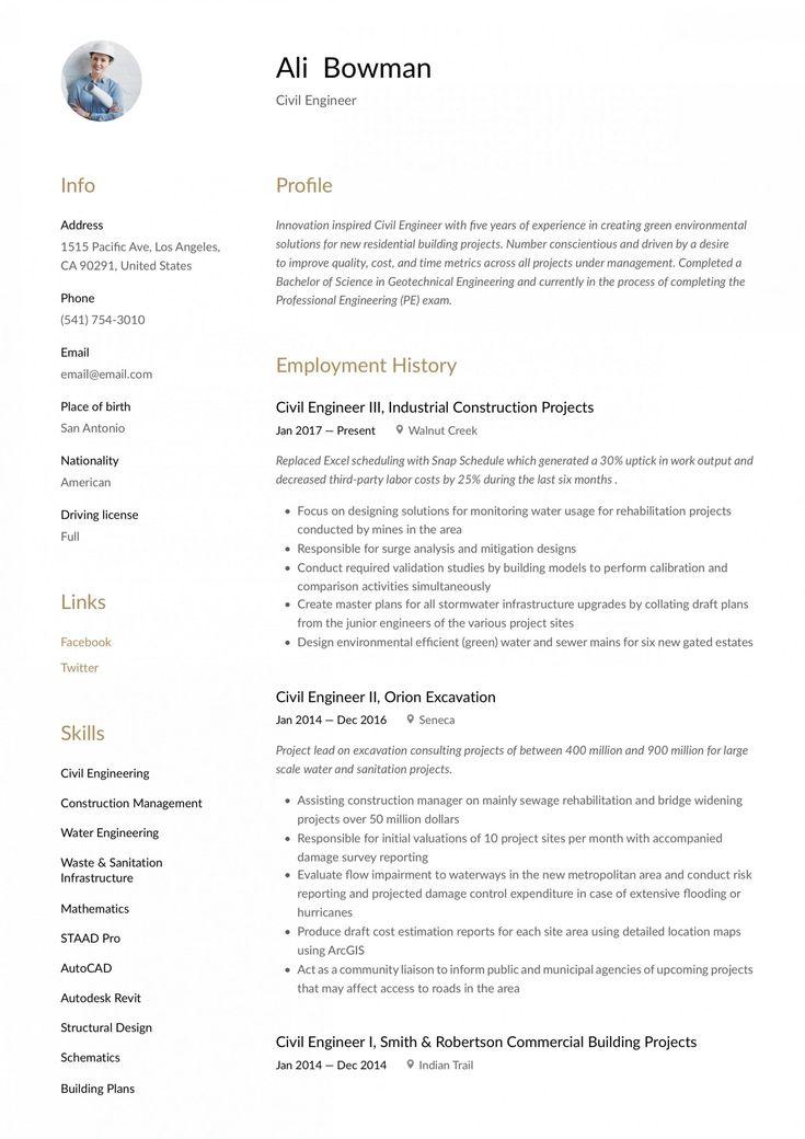 13 engineer resume canada