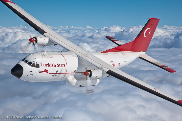 C-160 Transall assigned to Turkish Stars