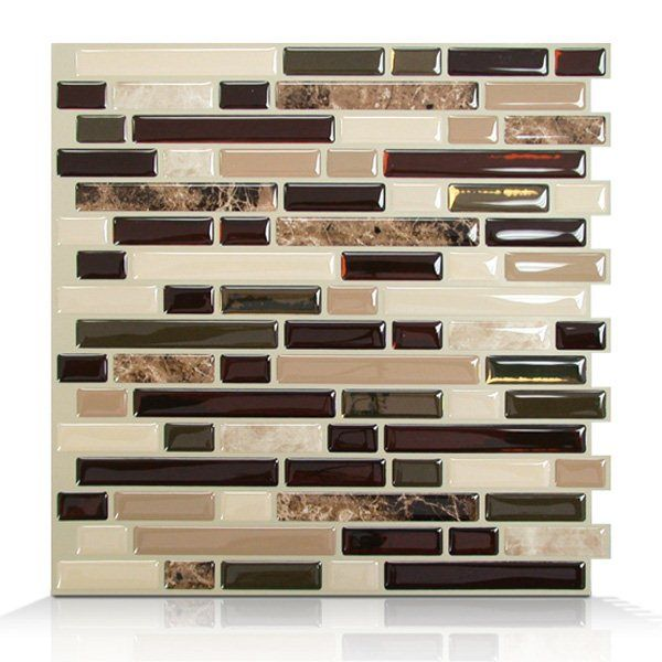 Shop Smart Tiles  SM1034 Bellagio Keystone Self Adhesive Wall Tile at Lowe's Canada. Find our selection of backsplashes & wall tile at the lowest price guaranteed with price match + 10% off.