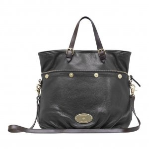 Fashion Mulberry MTB-53 Black Leather Bags Sale : Mulberry Outlet £150.09