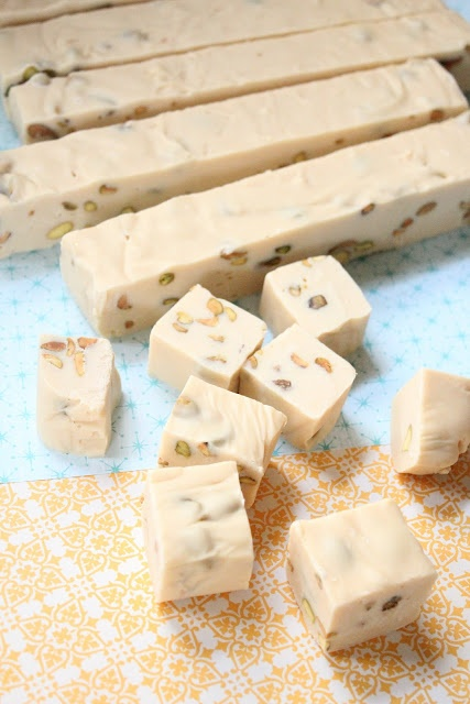 Baileys Irish Cream and Pistachio Fudge recipe...