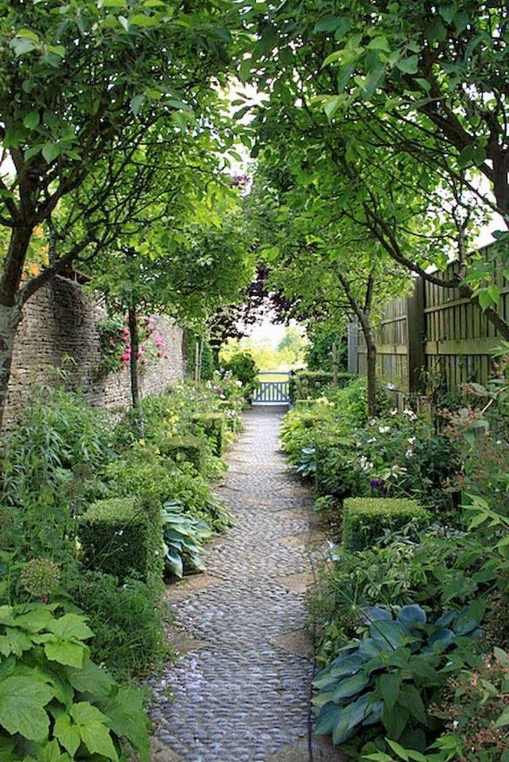 95 Beautiful Side Yard Garden Pathway Design Ideas Chemin De