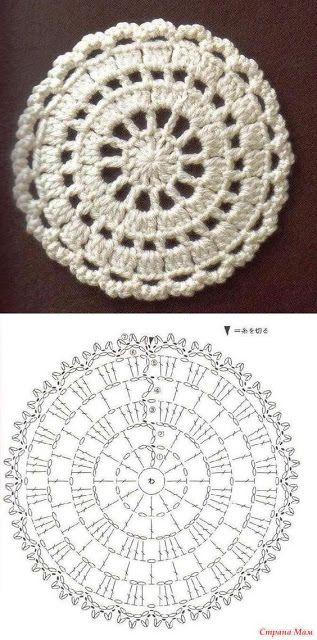 Patrones de carpetas a crochet - Crochetisimo