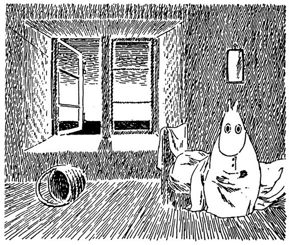 moomin wakes up
