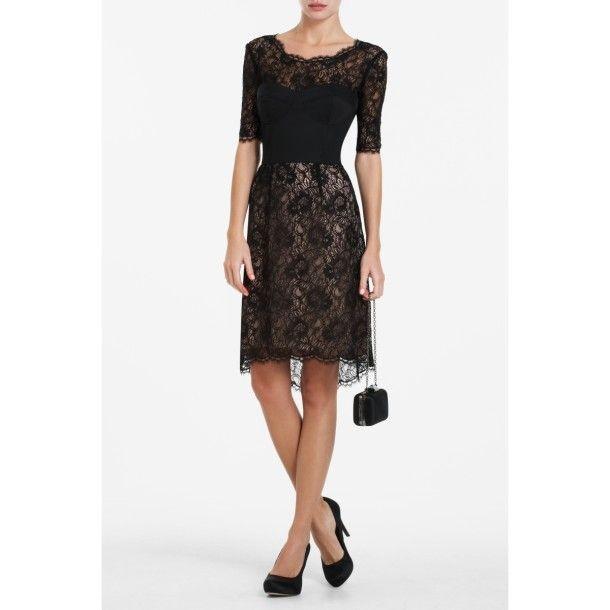 Black Lace Dress For Women - pictures, photos, images