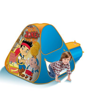 Love this Blue Jake u0026 the Never Land Pirates Hide-About Tent on #zulily  sc 1 st  Pinterest & 12 best Jake and the Neverland Pirates Stuff images on Pinterest ...