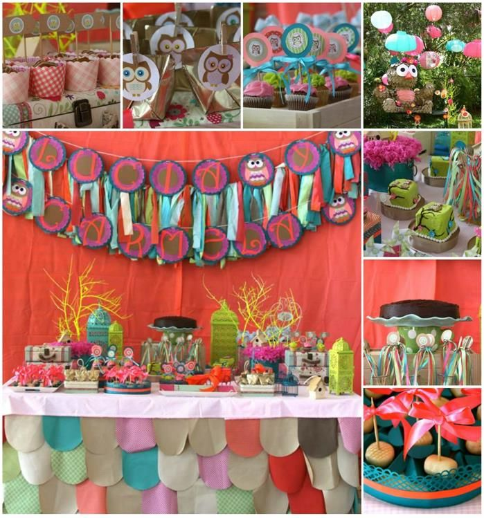 Best Owl Party Images On Pinterest Owl Parties Candies And - Childrens birthday party ideas taunton