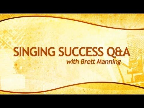 Go to the website, then click on before and afters. WOW! How to Sing - Hit High Notes - Extend Your Range - What is Brett Manning's SINGING SUCCESS -