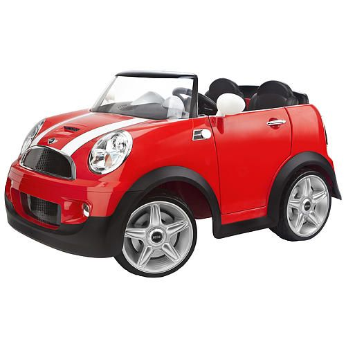 Toys R Us Toy Cars : Avigo mini cooper volt ride on red cars toys and