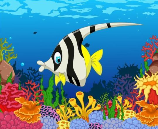652 best images about kp sea clip art on pinterest for Can fish see water