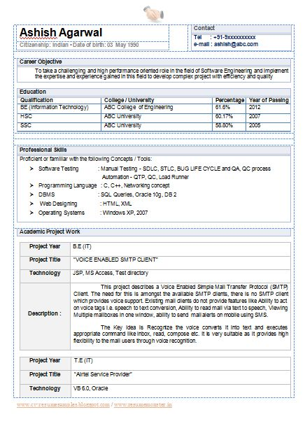 12 best work images on Pinterest Engineers, Like u and Resume - information technology resume