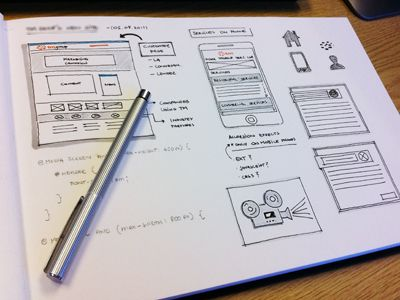 Dribbble - UI Sketch by Bruno Passos