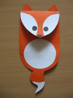 Liška - závěsná dekorace na šňůru