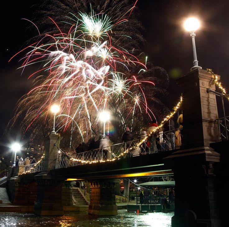 Happy New Year, Boston style