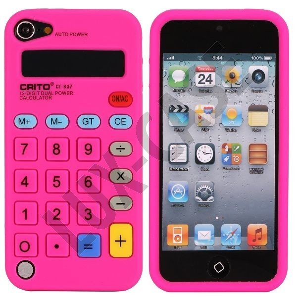 Calculator (Sterk Rosa) iPod Touch 5 Deksel
