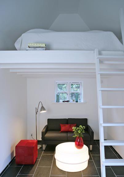 Best 25 Mezzanine Bed Ideas On Pinterest