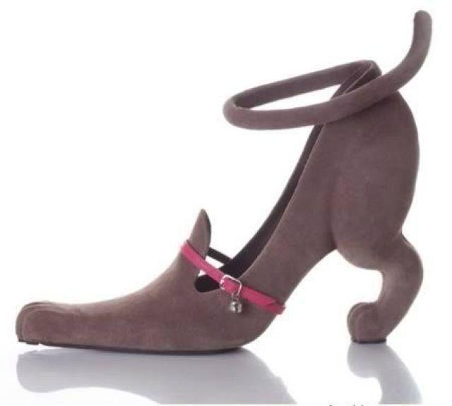 Crazy cat lady shoe