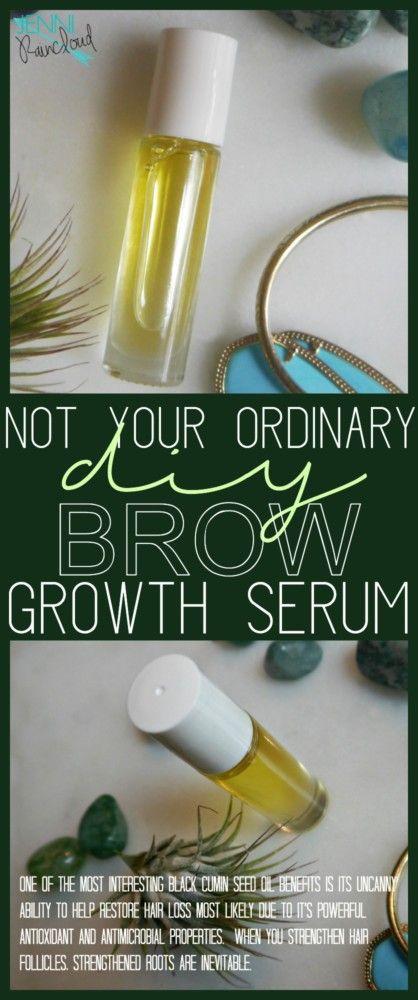 DIY Brow Growth Serum
