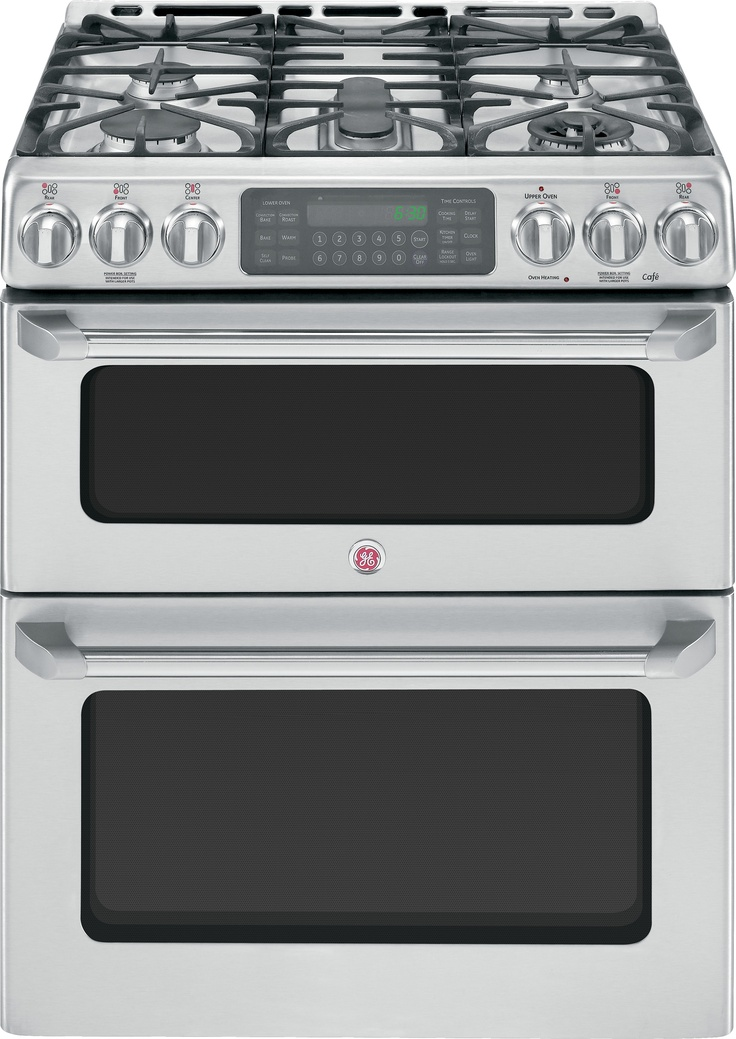 GE Cafe Double Oven gas range - Just bought this AMAZING APPLIANCE for my kitchen. woot woot!