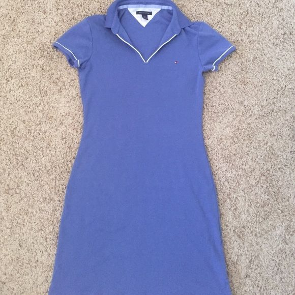 Tommy Hilfiger dress Light blue Tommy Hilfiger tshirt dress size S. It is knee length. Hardly worn and in great condition! No flaws! Tommy Hilfiger Dresses Midi