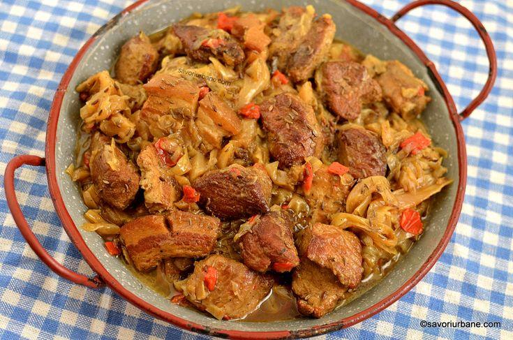 Mancare de varza cu carne de porc reteta ardeleneasca traditionala veche savori urbane