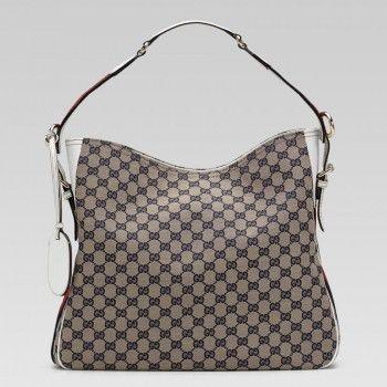 247597 Fwczg 4067 Gucci Heritage Medium Umh?ngetasche mit Web Deta Gucci Damen Handtaschen - Sale! Up to 75% OFF! Shot at Stylizio for women's and men's designer handbags, luxury sunglasses, watches, jewelry, purses, wallets, clothes, underwear & more!