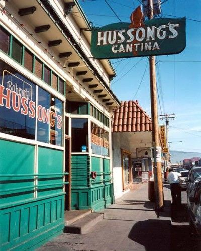 Hussong's Cantina in Ensenada, Mexico.  It's a lot smaller than I expected.
