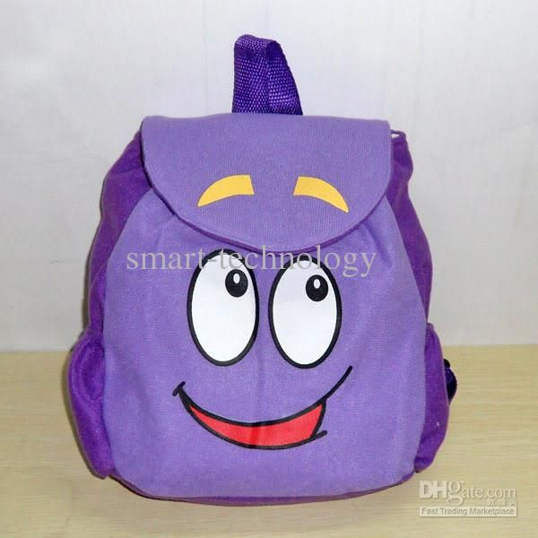 #Bags Backpack Dora The Explorer Backpack Mr Face Plush Backpack Shool Bag Purple Toddler Size New Retail Leather Backpack Sale From Smart Technology, $4.96  Dhgate.Com