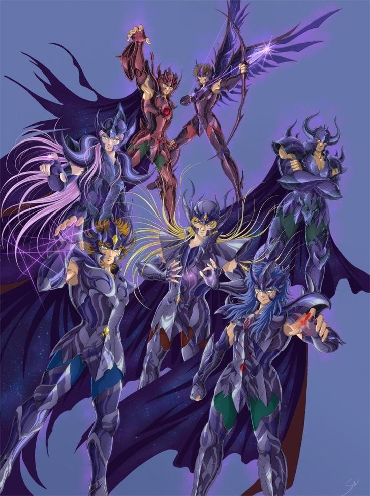 Saint Seiya - Gold Saints Specters
