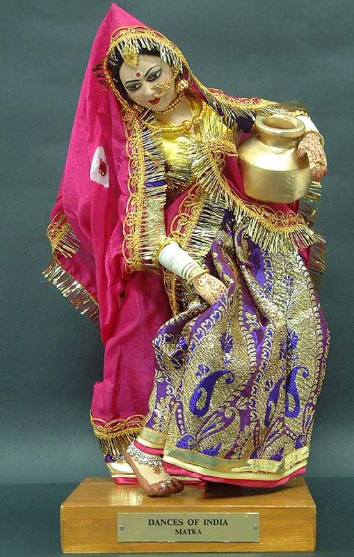 Dance Dolls of India -Matka Dance of Rajasthan