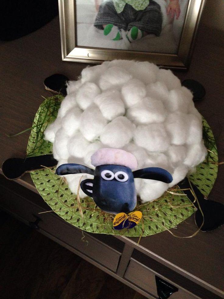 Shaun the Sheep easter bonnet designed by GemmaBo23 on Twitter!