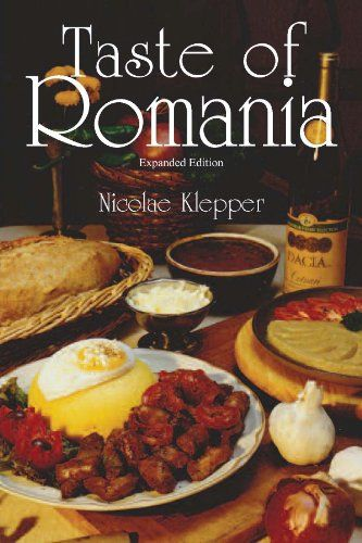 Taste of Romania. My favorite book in English about Romanian cooking. Includes the most common dishes and some tasty recipes culled from various chefs. Also includes bits about Romanian culture, some Romanian Jewish recipes, and more. Makes a great Christmas gift.