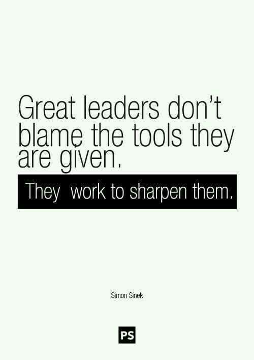 Don't blame the tools