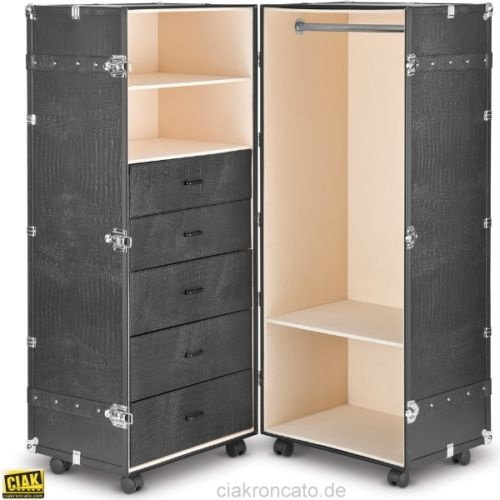 details zu ciak roncato schrankkoffer berseekoffer. Black Bedroom Furniture Sets. Home Design Ideas