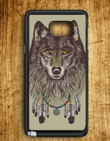 Wolf Dream Catcher Samsung Galaxy Note 5 Case